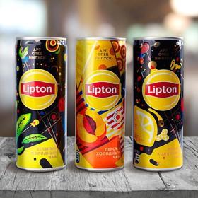 Холодный чай Липтон - Фото