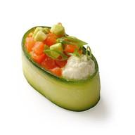 Овощной гункан Фото