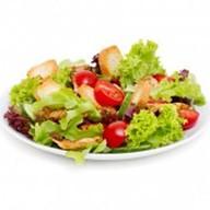 Зелёный салат Фото