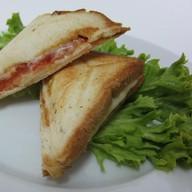 Сэндвич-тост  с семгой Фото