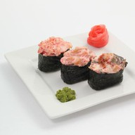 Спайс-суши с угрем Фото