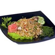 Рис с угрем Фото