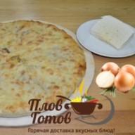 Пирог с сыром и луком Фото