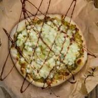 Пицца с яблоками и киви Фото