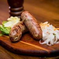 Колбаски из печени Фото