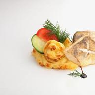 Судак с картофелем Фото