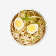 Куриный суп с яйцом Фото