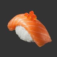 Суши два лосося Фото