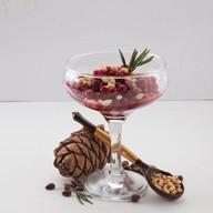 Сибирский десерт с брусникой Фото
