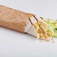 Шаурма овощная с фалафелем Фото