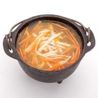 Домашний суп с лапшой Фото
