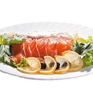 Филе лосося малой соли с лимоном Фото