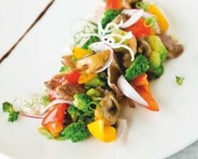 Салат с запеченной бужениной - Фото