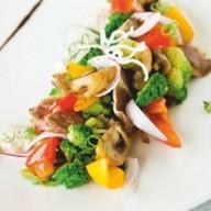 Салат с запеченной бужениной Фото