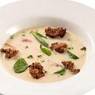 Картофельный суп-крем с беконом Фото