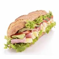 Сендвич с ветчиной и сыром maxi Фото