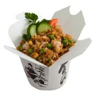 Рис с грибами и овощами Фото