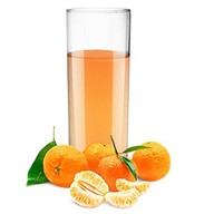 Мандариновый сок Фото