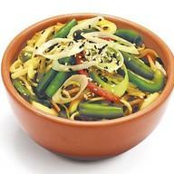 Лапша Рамен с овощами Фото