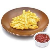 Картофель фри с томатных соусом Фото