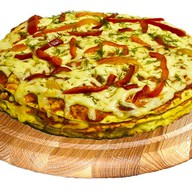 Квадро пицца Мясной микс Фото