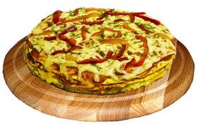 Квадро пицца Мясной микс - Фото