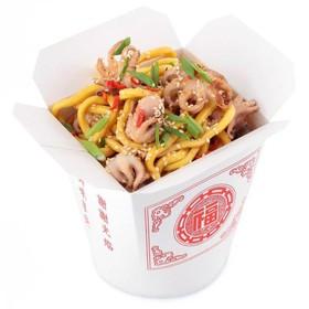 Wok с морепродуктами - Фото