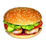Биг Бургер с креветками Фото
