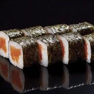 Мини ролл с лососем Фото