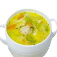 Куриный суп с овощами Фото