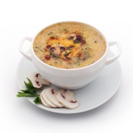 Суп-пюре с шампиньонами Фото