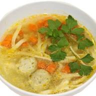 Суп-лапша с фрикадельками Фото