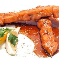 Шашлычок-терияки с лососем Фото