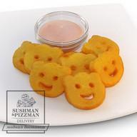 Картофельные рожицы Фото