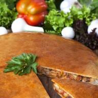 Вегетарианский овощной пирог Фото