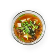 Мисо-суп с сыром тофу Фото
