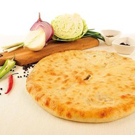 Пирог с луком и сыром Фото