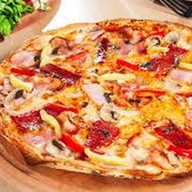 Острая пицца по-кавказски Фото