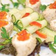 Кальмары с сырной начинкой Фото