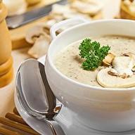 Суп-крем с шампиньонами Фото