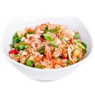 Жареный рис (тяхан) со свининой Фото