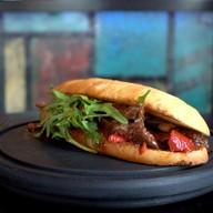 Лонг Бургер с говядиной Фото