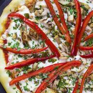 Пицца с курицей (острая) Фото