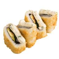 Сэндвич-ролл с лососем Фото