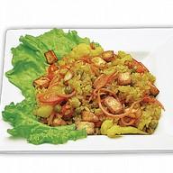 Рис с овощами и сыром Фото