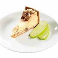 Яблочно-карамельный чизкейк Фото