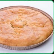 Пирог с мясом и картофелем Фото
