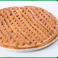 Пирог с яблоками и яблочным джемом Фото