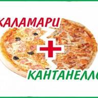 Пицца 2'Pizza: Каламари+Кантанелло Фото