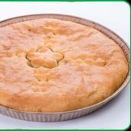 Пирог мясной с зеленью Фото